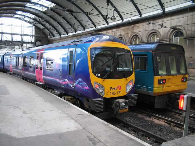 how to get from newcastle airport to newcastle train station